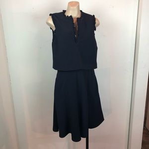 NWT Reiss faux 2piece with Pockets!